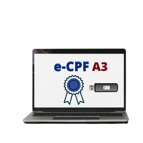 CERTFICADO DIGITAL E-CPF A3 ( PENDRIVER)