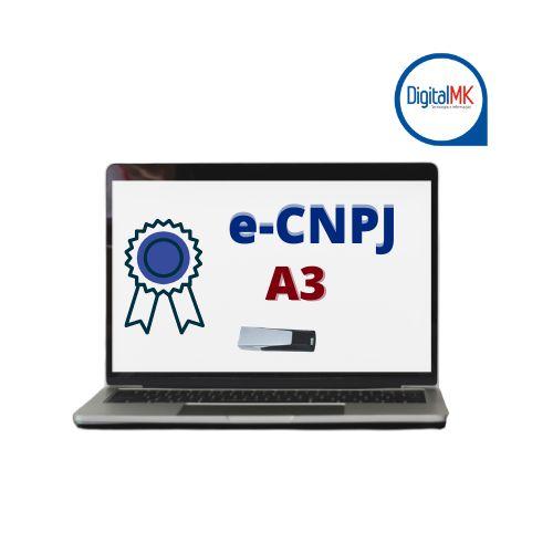 e-CNPJ A3 PENDRIVER (token)