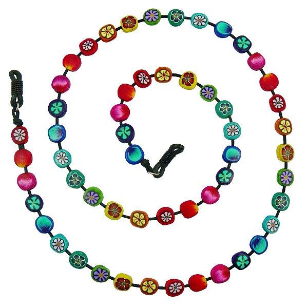 57b1154b6829a Cordinha Para Óculos Colorida - Accessorium
