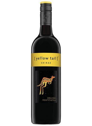 Vinho australiano Yellow Tail Shiraz tinto