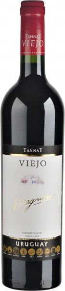 Vinho uruguaio H. Stagnari Tannat Viejo tinto