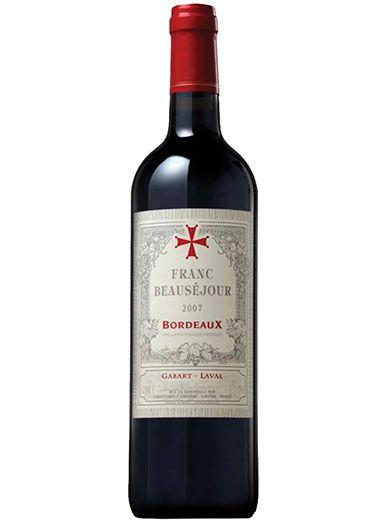 Vinho francês Franc Beauséjour Bordeaux Tinto