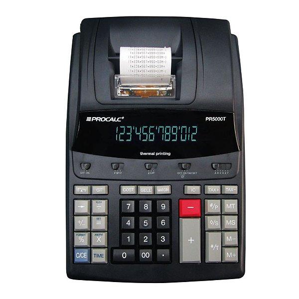Calculadora de Mesa Procalc PR5000T 12 Digitos Impressão Térmica