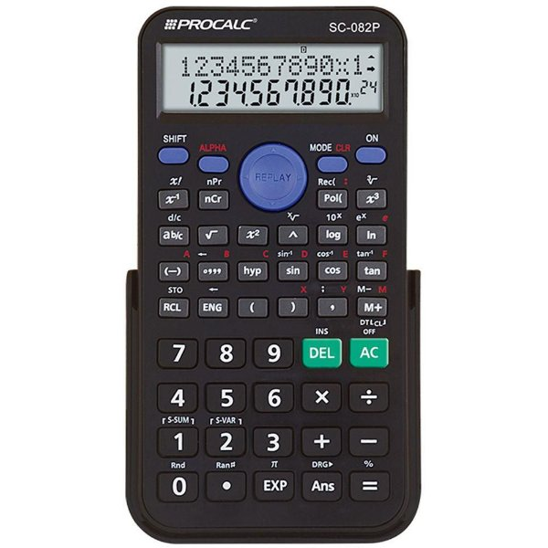 Calculadora Científica Procalc SC82P 240 Funções