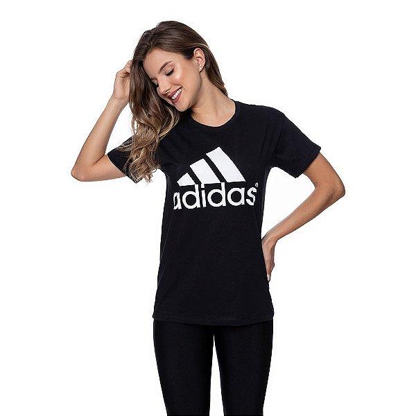 Camiseta Feminina Adidas Original Preta