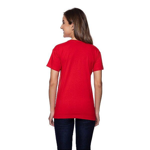Camiseta Feminina Calvin Klein Original Vermelha