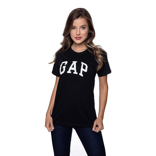 Camiseta Feminina GAP Original Preta