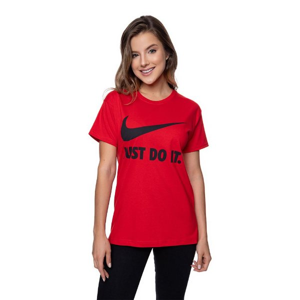 Camiseta Feminina Nike Original Vermelha