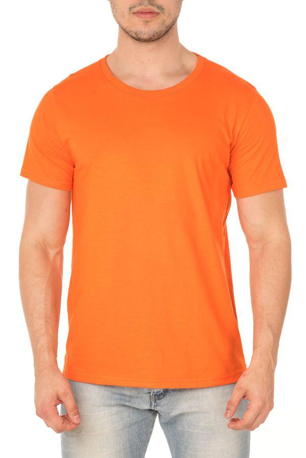 Camiseta Masculina Lisa Laranja
