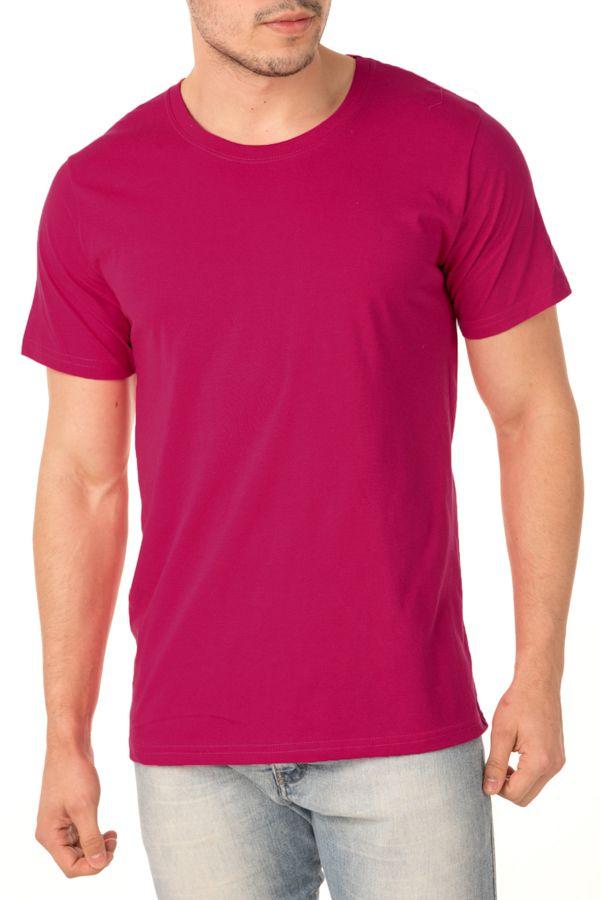 Camiseta Masculina Lisa RosaPink