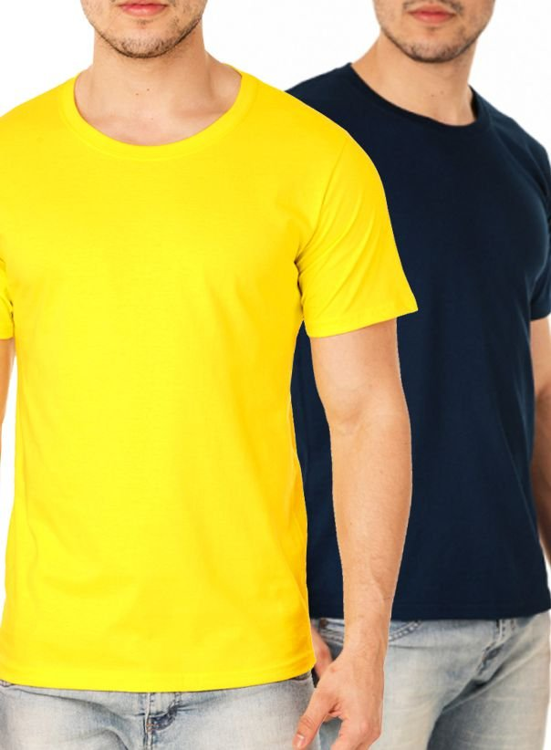 Kit com 50 Camisetas Lisas Masculina