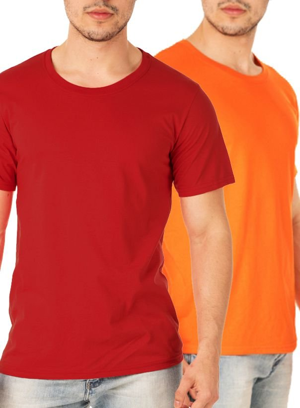Kit com 100 Camisetas Lisas Masculina