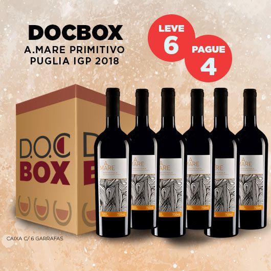 DOC BOX A.MARE PRIMITIVO PUGLIA IGP 2018