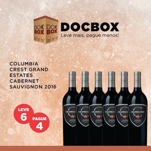 DOX BOX COLUMBIA CREST GRAND ESTATES CABERNET SAUVIGNON 2016