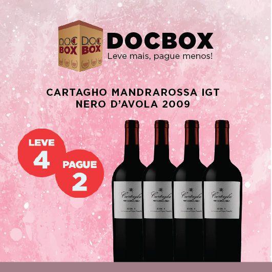 DOC BOX CARTAGHO MANDRAROSSA IGT NERO D'AVOLA 2009