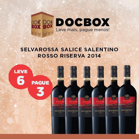 DOC BOX SELVAROSSA SALICE SALENTINO ROSSO RISERVA 2014