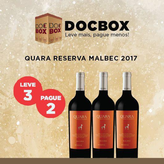 DOC BOX QUARA RESERVA MALBEC 2017