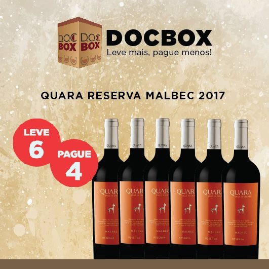 DOC BOX QUARA RESERVA MALBEC 2017