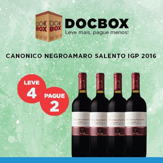 DOC BOX CANONICO NEGROAMARO SALENTO IGP 2016