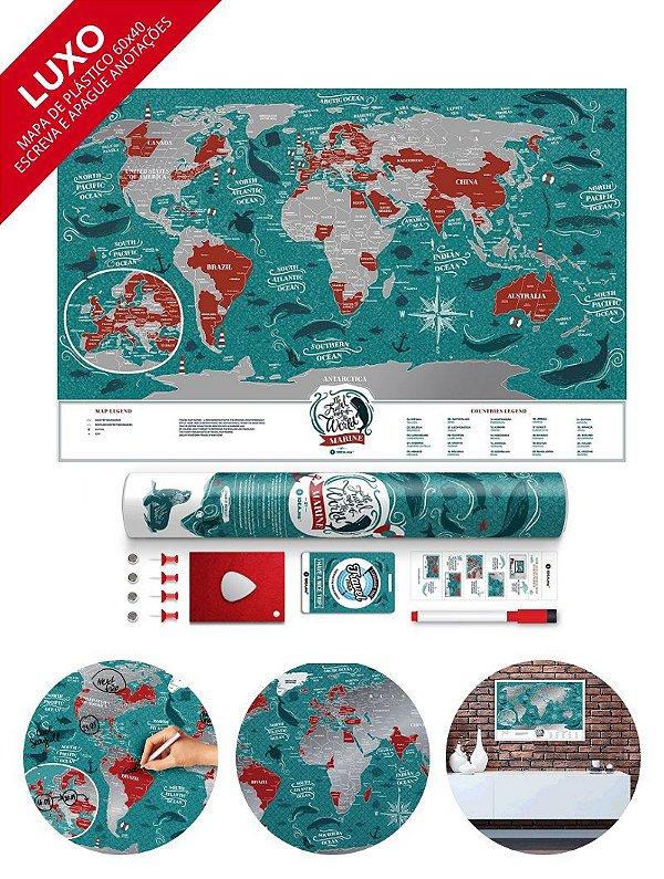 Mapa de Raspadinha Marine 60x40