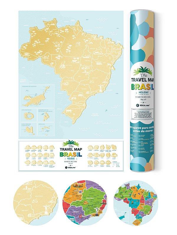 Mapa de Raspadinha do Brasil Lagoon