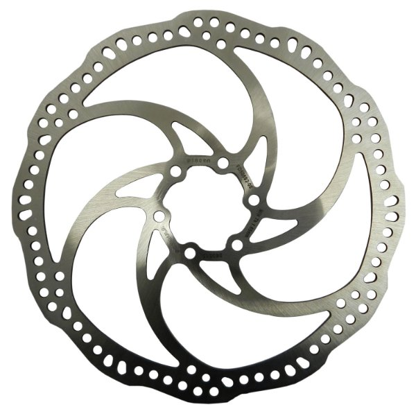 Disco de freio Calypso 180mm Wave Compatível com Diversos Freios Prata