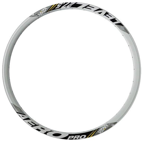 Aro Vzan Level Disc 27.5x32F em Alumínio Branco