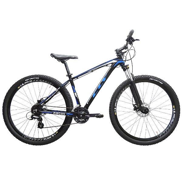 Bicicleta Cly 29 Zircon Alumínio Câmbio Shimano 24 Marchas Freio a Disco Hidráulico