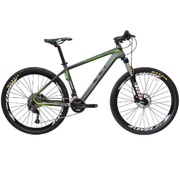 Bicicleta Cly 27.5 Protheus 18.5 Carbono Câmbio Shimano 27 Marchas Freio a Disco Hidráulico