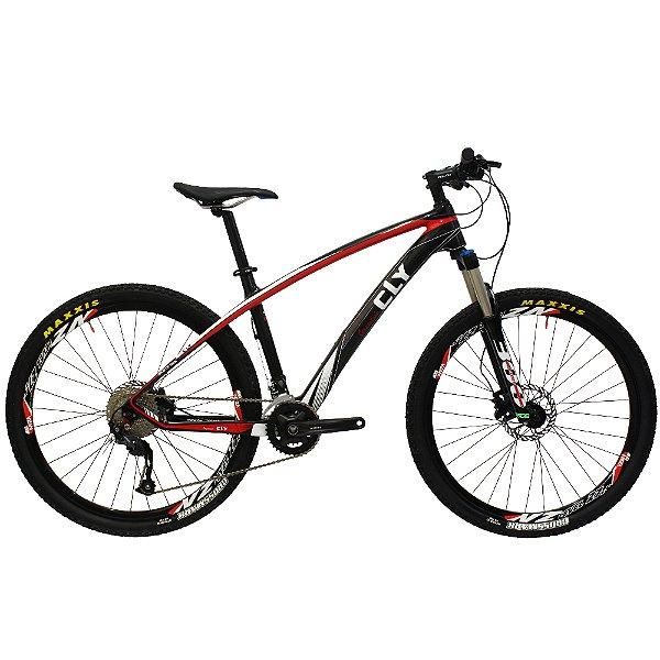 Bicicleta Cly 27.5 CFM 16 Carbono Câmbio Shimano 18 Marchas Freio a Disco Hidráulico