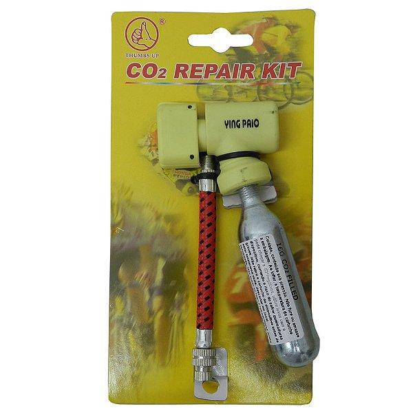 Bomba Thumbs UP para Cartucho de CO2 +1 Cartucho de 16g Amarelo