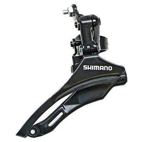 Câmbio Dianteiro Shimano Tourney TZ 30 Down 31.8mm Preto