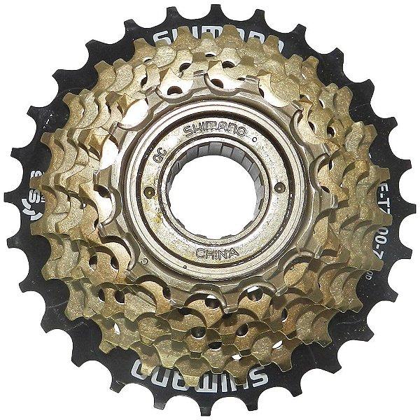 Roda Livre Shimano Tourney MF-TZ500 14/28 7v Preto