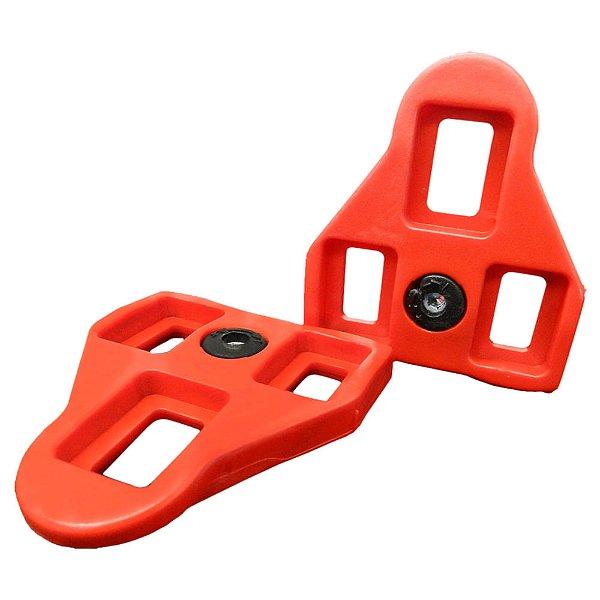 Taco de Pedal Wellgo Vermelho