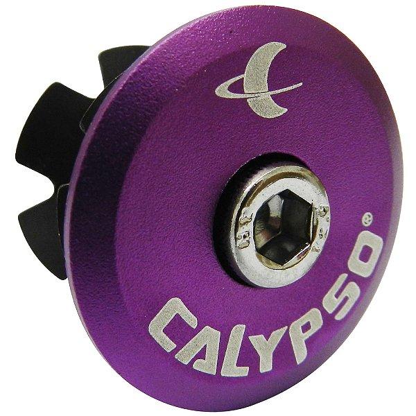 Tampa de Movimento de Direção Calypso em Alumínio Lilas