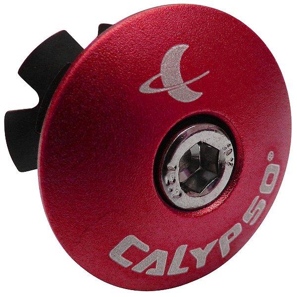 Tampa de Movimento de Direção Calypso em Alumínio Vermelho