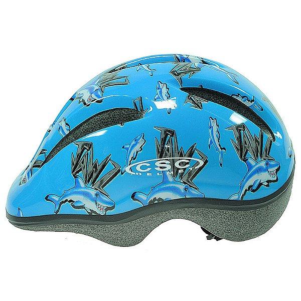 Capacete Calypso para Ciclismo Junior Azul