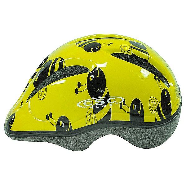 Capacete Calypso para Ciclismo Junior Amarelo