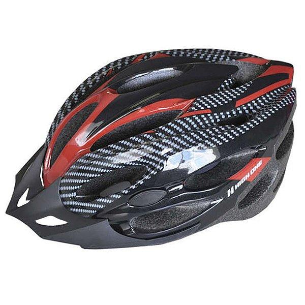 Capacete High One para Ciclismo Tamanho M MV263 com LED HOCAP0100