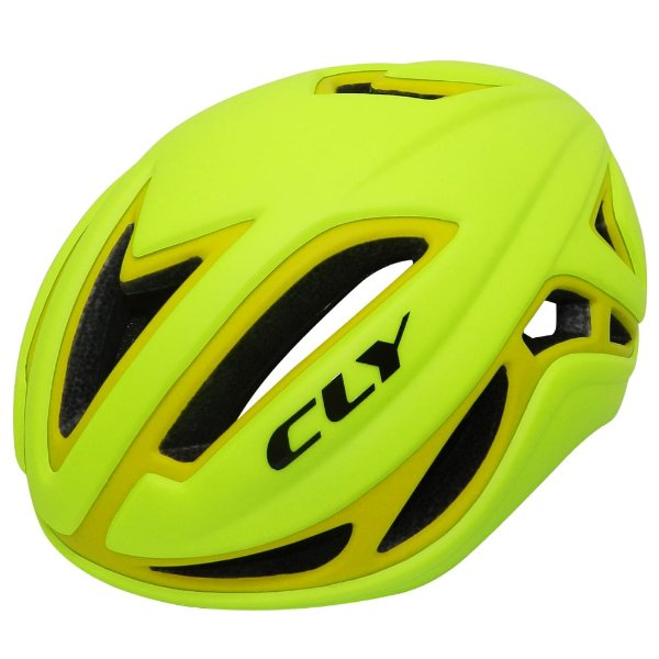 Capacete Cly In Mold Road/Speed para Ciclismo G Amarelo