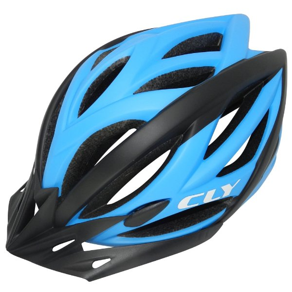Capacete Cly In Mold MTB/Urbano para Ciclismo G Azul/Preto