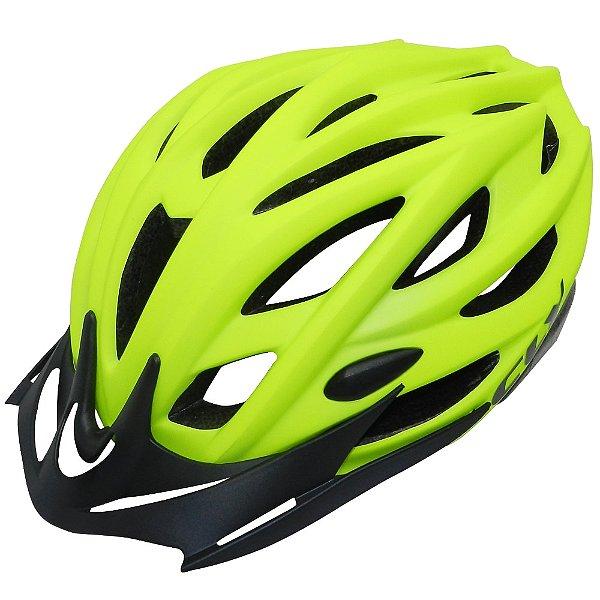 Capacete Cly Out Mold MTB/Urbano para Ciclismo M Amarelo
