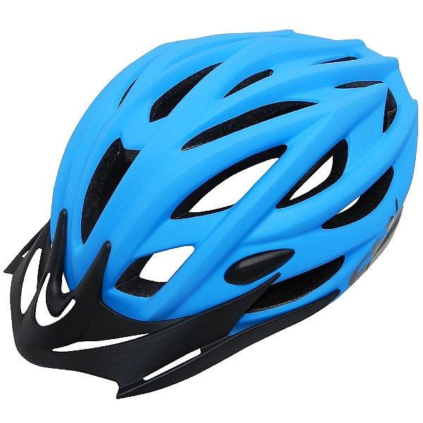 Capacete Cly Out Mold MTB/Urbano para Ciclismo G Azul