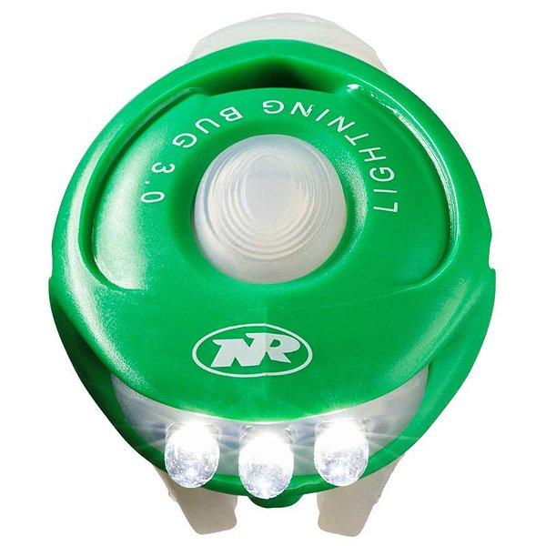 Pisca NiteRider para Bicicleta Dianteiro Vista Light Bug 3.0 Verde