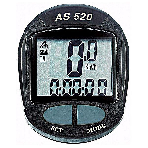 Ciclocomputador Assize para Bike 11 Funções AS520 Preto