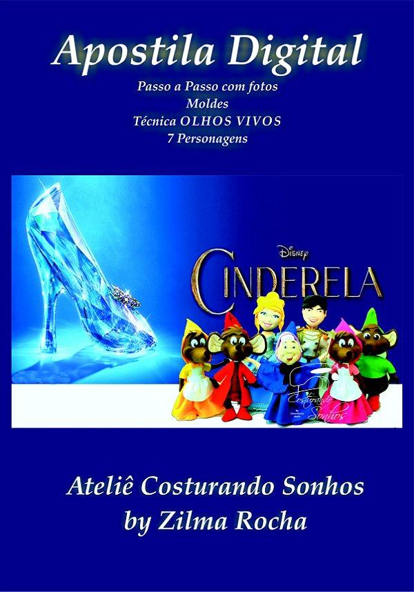 "APOSTILA DIGITAL DE MOLDES ""CINDERELA"""
