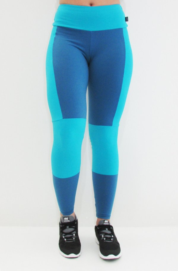 Legging Double Blue