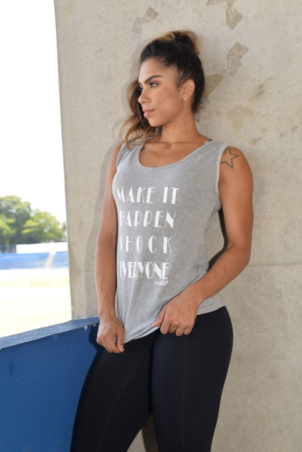 Blusa Flame Frases