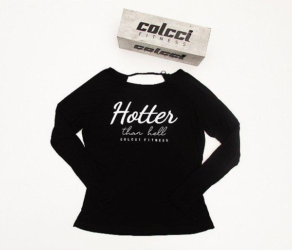 Blusa Estampada - Preto - COLCCI