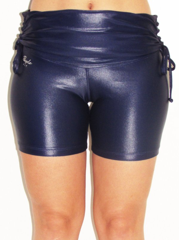 Short Meia Coxa Franzido nas Laterais Cirre People Fit - M